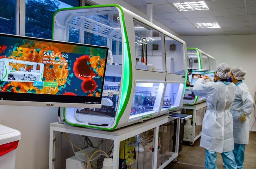 Projeto Cria Programa de Apoio a Laboratórios e Pesquisas de Combate à Covid-19