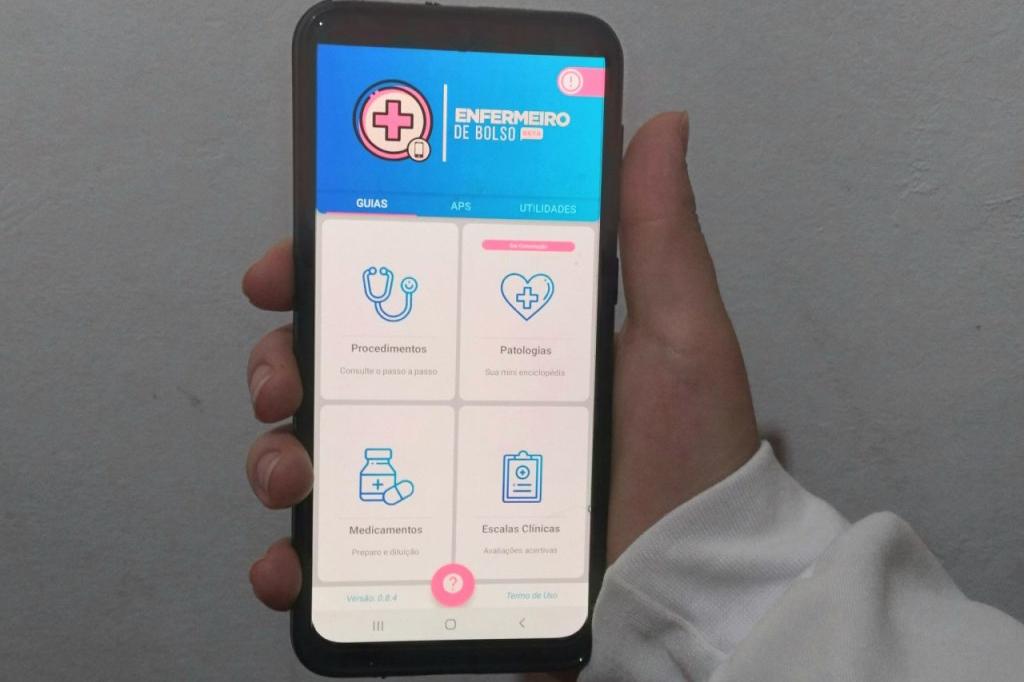 enfermeiro de bolso app