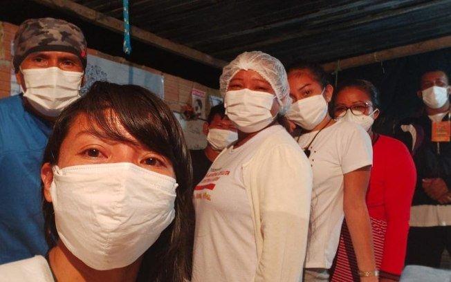 A Técnica de Enfermagem Indígena Que Montou Um Hospital Com Doações em Manaus
