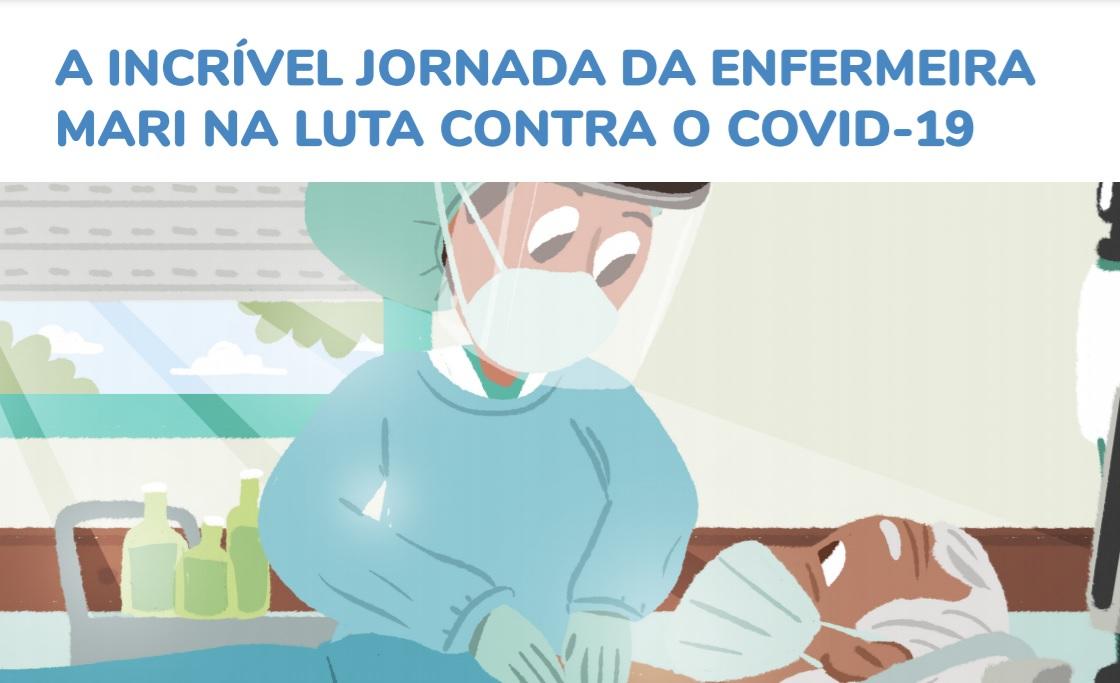 A Incrível Jornada da Enfermeira Mari na Luta Contra o Covid-19